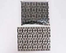 100 Count Conductive Grid Anti Static 2 Mil Heat Seal Able Esd Bag 75 X 55
