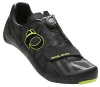 Pearl Izumi Race Road Iv Boa Bike Cycling Shoes Black/lime Punch - 43