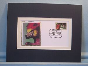 Harry Potter and The Chamber of Secrets and Fawkes the Phoenix First Day Cover