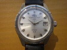 Vintage CALENDAR AUTO ORIENT AAA SWIMMER 25 Jewels Automatic Men's Watch