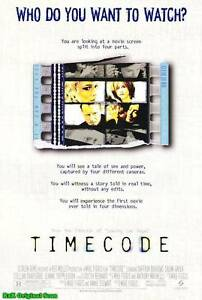 MOVIE-POSTER-Timecode-2000-Double-Sided-D-S-Original-27x40-One-Sheet-Skarsgard-1
