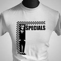 The Specials Retro T Shirt Music Ska Reggae Two Tone Fun Boy Three Cool Vintage
