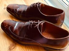 0478c31a Barker Valiant Brown Mens Leather Brogue Shoes UK 8 for sale online ...