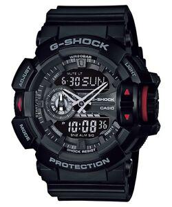 Casio-G-Shock-Analogue-Digital-Mens-Black-Rotary-Switch-Series-Watch-GA-400-1B