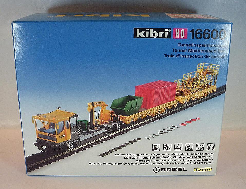 Inspección de Kibri H0 16600 Kit Kit lazo Bullok Robel Palfinger OVP  3064