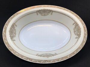 NORITAKE-FINE-CHINA-Oval-Vegetable-Serving-Bowl-10-034-Bancroft-5481-Vintage