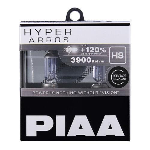 NOUVEAU HE-904 PIAA H8 Hyper Arros 3900K revalorisé Ampoules Phare 120/% plus lumineux