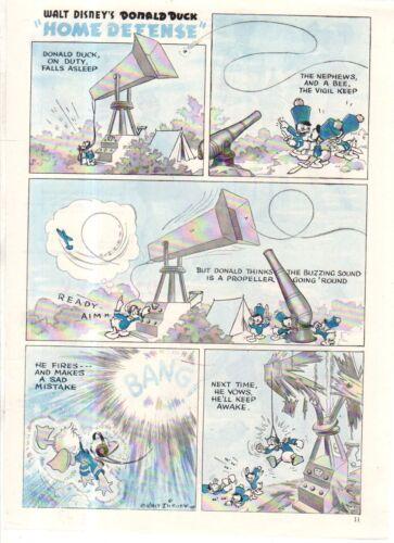 Donald Duck 1943 Disney Dewey and Louie from Good Housekeeping Huey