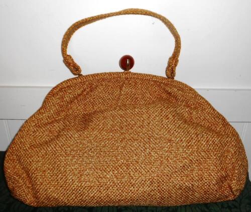 Vintage Jr (Julius Resnick) Handbag Carpetbag Purs