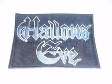 HALLOWS EVE SPEED/THRASH METAL EMBROIDERED PATCH