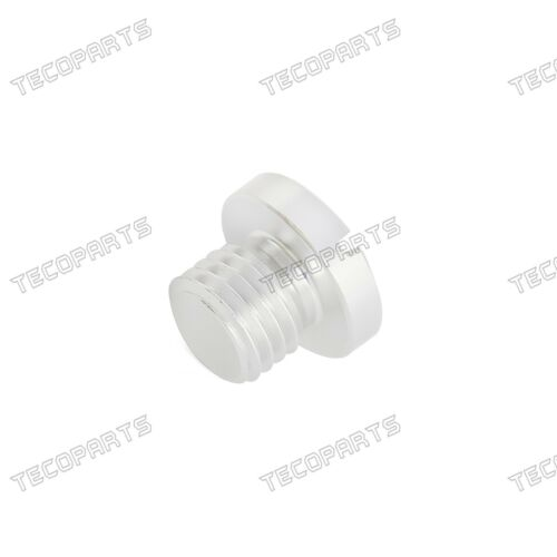 2PCS M10X1.25 CNC Aluminum Mirror Hole Plug for For Kawasaki KX KLX 65-250 450R