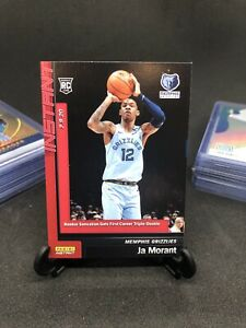 JA-MORANT-RC-2019-20-PANINI-ROOKIE-CARD-PSA-READY-NO-AUTO-SP-PAPER-GEM-MINT