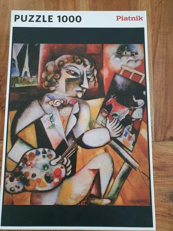 Piatnik, Kunst, puslespil