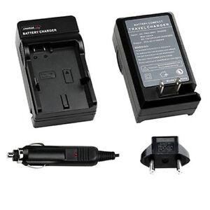 Home-amp-Car-Battery-Charger-for-Panasonic-VW-VBK180-VWVBK360