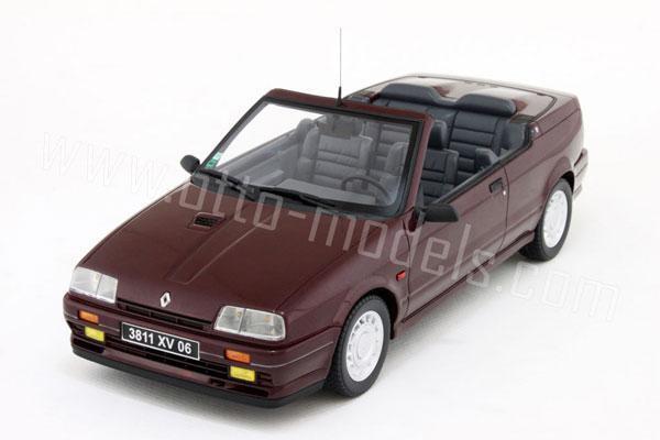 Otto 1991 RENAULT 19 16 S Cabriolet-Marron  OT079 NEUF