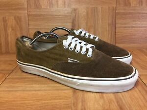 0b5074d925f97e Image is loading Vintage-VANS-Authentic-Two-Tone-Brown-Corduroy-Suede-