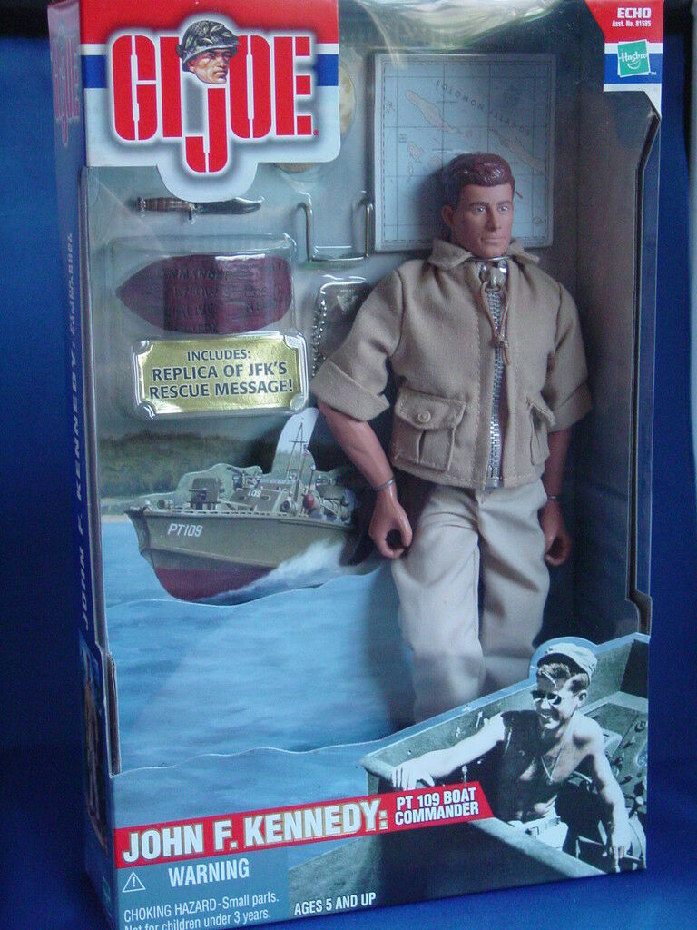 GI Joe, John F.l Kennedy, 50 YEARS PT 109 Boat Commander, Action Figure 12