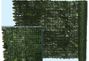 Siepe sintetica artificiale arella edera finta rete for Siepe sintetica artificiale