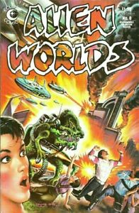 Alien-Worlds-8-Nm-Comic-book-High-grade