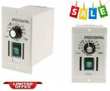 AC110V 400W Single Phase Motor Speed Controller Knob Switch DC 0-90V Adjustable
