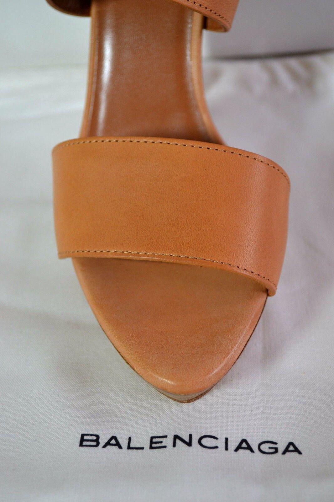 Balenciaga Schuhe Schuhe RÖMER ABSATZ SANDALETTE 37,5 UK 4,5 SANDALE  SANDALE 4,5  NEU e1af91