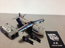 Transformers Universe Tankor With Reprolabels DLX Class 100% Complete