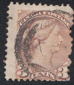 Canada-Scott-37-used-3-cent