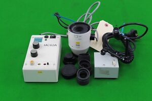 Carl zeiss mc63a photomicrographic system controller & mikroskop