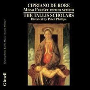 Missa-Praeter-Rerum-Seriem-Tallis-Scholars-Phillips-CD-2001-NEW