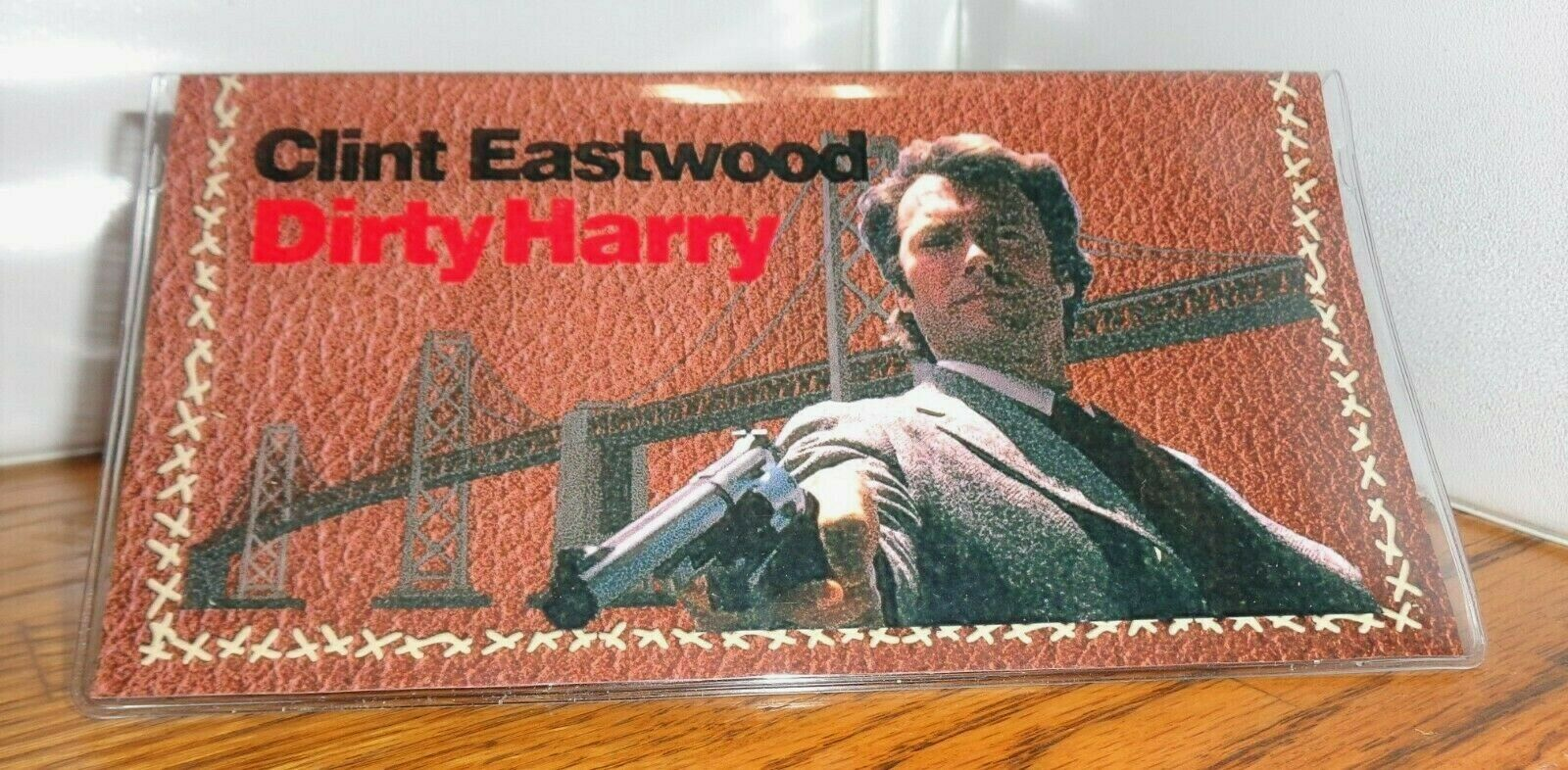 CLINT EASTWOOD CHECKBOOK COVER # 2. DIRTY HARRY....FREE SHIPPING