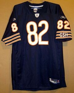 ce628e7ed CHICAGO BEARS GREG OLSON Blue  82 AUTHENTIC HOME NFL Football Size ...