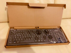 Tastatur-Keyboard-Acer-schwarz-Neu