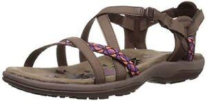0226ee874ef Skechers Cali Womens Regga Slim Keep Close Gladiator Sandal- Select ...