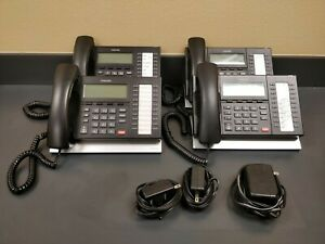 Lot-of-4-Toshiba-IP5132-SD-20-Button-Backlit-Display-IP-Business-Office-Phones