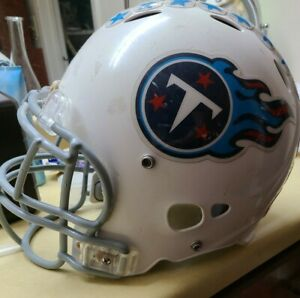 Medium-White-Youth-Riddell-Titans-Football-Helmet-with-face-mask