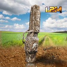 Adjustable 1.2m Hunting&Shooting Carry Case Shotgun Rifle Gun Slip Double Bag Cp
