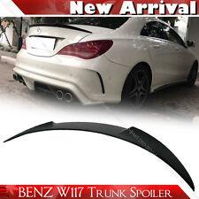 """SHIP FROM LA Unpaint Mercedes BENZ CLA W117 Sedan V Trunk Spoiler CLA250 CLA180"