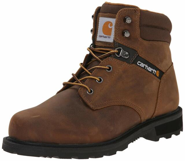 Carhartt Men's 6 Work Soft Toe NWP Work Boot, Brown, Size 10.5 KDxd