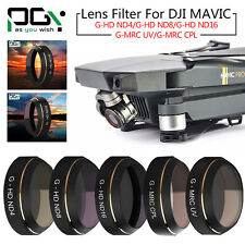 PGY HD Camera Lens Filter ND4 ND8 ND16 UV CPL Spare Parts For DJI Mavic Pro FPV