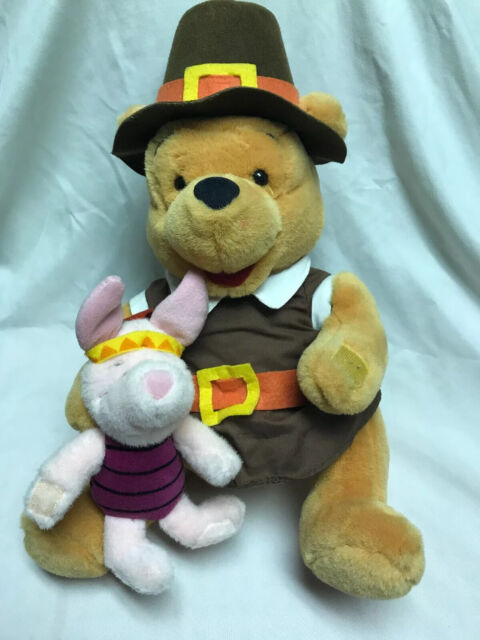 Walt Disney Company Winnie the Pooh and Piglet Plush ...