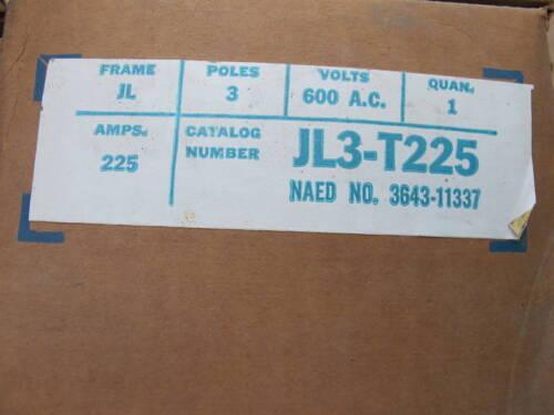 NEW 225 Amp Trip Unit ITE//Siemens JL3T225