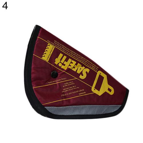 Car Seat Belt Cover Kids Safety Pad Adjuster Triangle Protective Holder Rakish