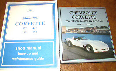 Corvette Service Book Manual 1966 1967 1968 1969 1970 1971 1972 1973 1974 1975