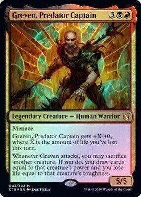 Kadena Slinking Sorcerer FOIL Commander 2019 NM Mythic Rare CARD ABUGames