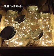Firefly Mason Jar Light, Wedding centerpiece, rustic, Fairy lights, string light