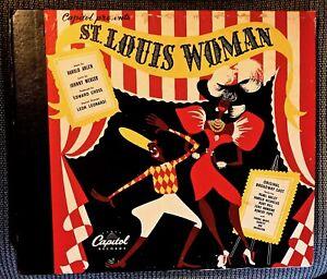 ST-LOUIS-WOMAN-Original-Broadway-Cast-1946-Capitol-5-record-Set-CE-28-with-Bklt