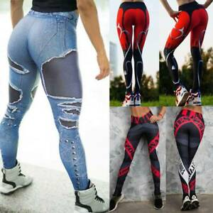 Women-Sports-Compression-Fitness-Leggings-Running-Yoga-Pants-Gym-Workout-Stretch