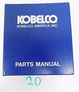 kobelco sk220 lc sk220lc parts manual catalog ebay rh ebay com kobelco parts manuals online kobelco sk60 parts manual