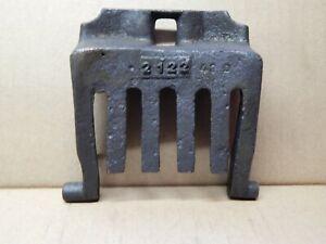 Grille-de-devant-pour-POELE-A-BOIS-CHARBON-GODIN-modele-2122-bon-etat