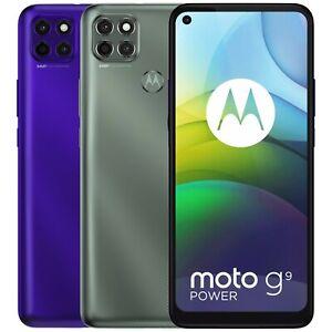 "Motorola Moto G9 Power XT2091-3 128GB 4GB RAM Dual Sim (FACTORY UNLOCKED) 6.8"""